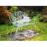 Organic garden bench