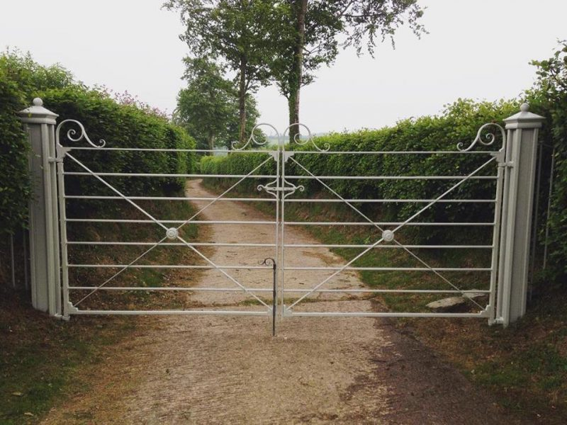 Gate designed and made by West Country Blacksmiths