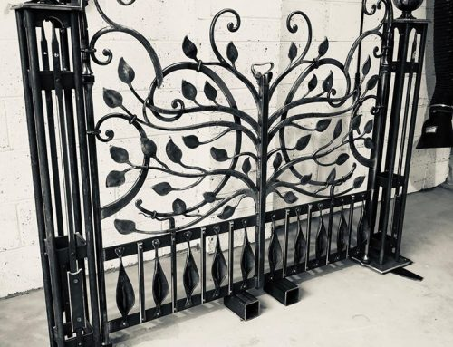 Bespoke Metal Gates – Thenford Estate in Northamptonshire