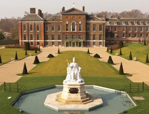 Estate railing and historic railing restoration at Kensington Palace
