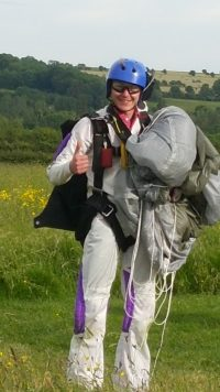 Billy Freefall Sky Dive Picture
