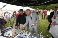 West Country Blacksmiths meeting the prince of wales.