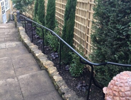 Bespoke handrail project for a property in Chipping Campden in the Cotswolds.