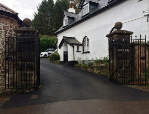 Grade two listed pivoting gate restoration by West Country Blacksmiths